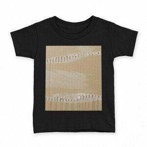 tシャツ キッズ 半袖 黒地 ブラック デザイン 90 100 110 120 130 140 150 Tシャツ ティーシャツ T shirt 001557 段ボール