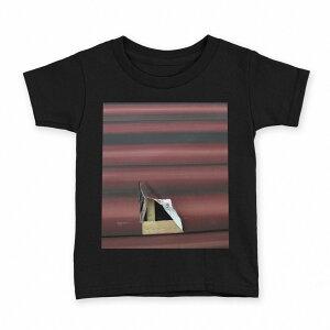 tシャツ キッズ 半袖 黒地 ブラック デザイン 90 100 110 120 130 140 150 Tシャツ ティーシャツ T shirt 001558 段ボール
