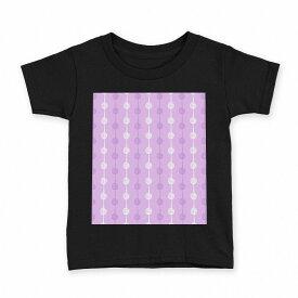 tシャツ キッズ 半袖 黒地 ブラック デザイン 90 100 110 120 130 140 150 Tシャツ ティーシャツ T shirt 050104