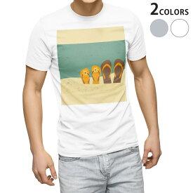 tシャツ メンズ 半袖 ホワイト グレー デザイン XS S M L XL 2XL Tシャツ ティーシャツ T shirt 010425 おしゃれ ファッション サンダル