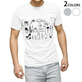 tシャツ メンズ 半袖 ホワイト グレー デザイン XS S M L XL 2XL Tシャツ ティーシャツ T shirt 013228 おしゃれモノトーンモノトーン 香水