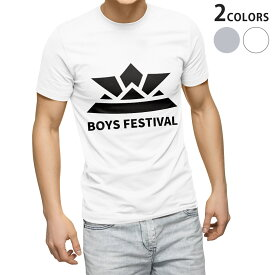 tシャツ メンズ 半袖 ホワイト グレー デザイン XS S M L XL 2XL Tシャツ ティーシャツ T shirt 017651 子供の日 兜 端午の節句 カブト