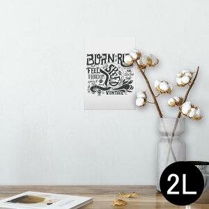 ポスター ウォールステッカー シール式ステッカー 飾り 127×178mm 2L 写真 フォト 壁 インテリア おしゃれ  剥がせる wall sticker poster 011218 英語 ヘルメット ビンテージ