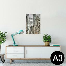 ポスター ウォールステッカー シール式ステッカー 飾り 297×420mm A3 写真 フォト 壁 インテリア おしゃれ  剥がせる wall sticker poster 005933 写真 建物 空