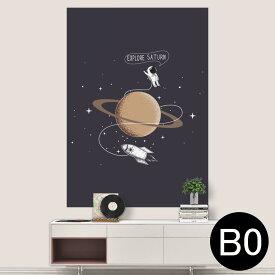 ポステッカー ポスター ウォールステッカー シール式ステッカー 飾り 1030mm×1456mm B0 写真 フォト 壁 インテリア おしゃれ 剥がせる wall sticker poster 013340 宇宙 惑星 星
