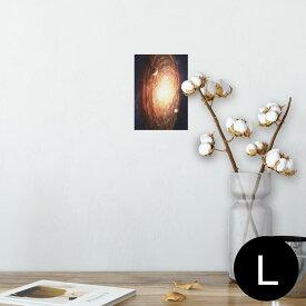 ポスター ウォールステッカー シール式ステッカー 飾り 89×127mm L版 写真 フォト 壁 インテリア おしゃれ  剥がせる wall sticker poster 004912 宇宙 惑星 写真