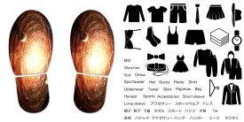 デザイン靴置きステッカー 大人用靴置き マーク くつ 収納 シール ステッカー 整理整頓 ウォールステッカー ラベルシール ミニマリスト 服 玄関 60×30cm 004912 宇宙 惑星 写真