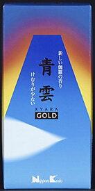 日本香堂 青雲 ゴールド バラ詰 #21101 95G けむり 少ない 伽羅の香り GOLD KYARA