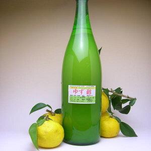 ゆず酢 1.8L 業務用【ゆず果汁、穀物酢混合】