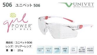 UNIVET 妇女保护眼镜 506 危害性
