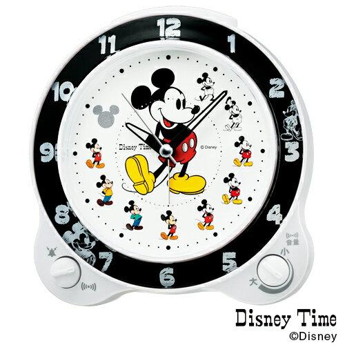 【ディズニー ミッキー めざまし】 FD461W セイコー SEIKO ミッキーマウス 目覚まし ベル音 ライト スイープ 【名入れ】【お取り寄せ】【30%OFF】【Disneyzone】【父の日 ギフト 結婚祝】