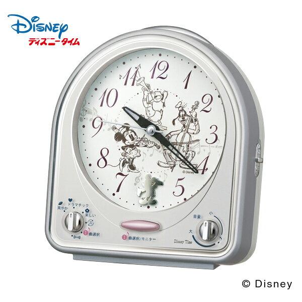 【ディズニー メロディ 目覚まし】 FD464S セイコー SEIKO ミッキーマウス メロディ 31曲 切替式 ライト スイープ 【お取り寄せ】【30%OFF】【名入れ】【Disneyzone】 【父の日 ギフト 結婚祝】