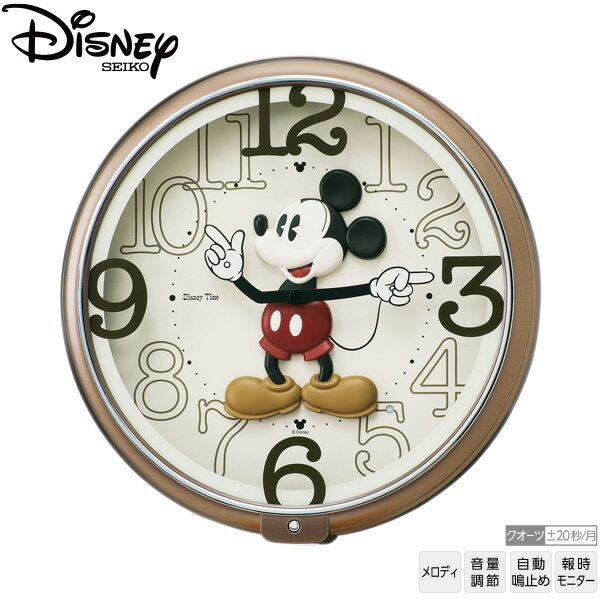 【ディズニー 時計 メロディ】 FW576B セイコー SEIKO ディズニー Disney ミッキーマウス メロディ 壁掛 時計 【お取り寄せ】【30%OFF】【送料無料】【名入れ】 【Disneyzone】 【父の日 ギフト 結婚祝】 【RCP】