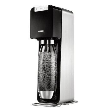 ソーダストリームソースパワーブラックスターターセット「60Lガスシリンダー・1Lボトルがセット」/炭酸水メーカーソーダメーカースターターキット水から炭酸水を作る【ギフトラッピング対応】【在庫あり】SodaStreamSourcePOWERSSM1060黒