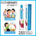 【在庫あり】 SSG0001 Soda Stream ソーダストリーム 予備用ガスボンベ [ガスシリンダー 60リットル用] 【02P03Dec16】【あす楽】