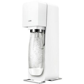 ソーダストリームソースブイ3ホワイトスターターセット「60Lガスシリンダー・1Lボトルがセット」/炭酸水メーカーソーダメーカースターターキット水から炭酸水を作る【ギフトラッピング対応】【在庫あり】SodaStreamSourceV3(ソースV3)SSM1062白