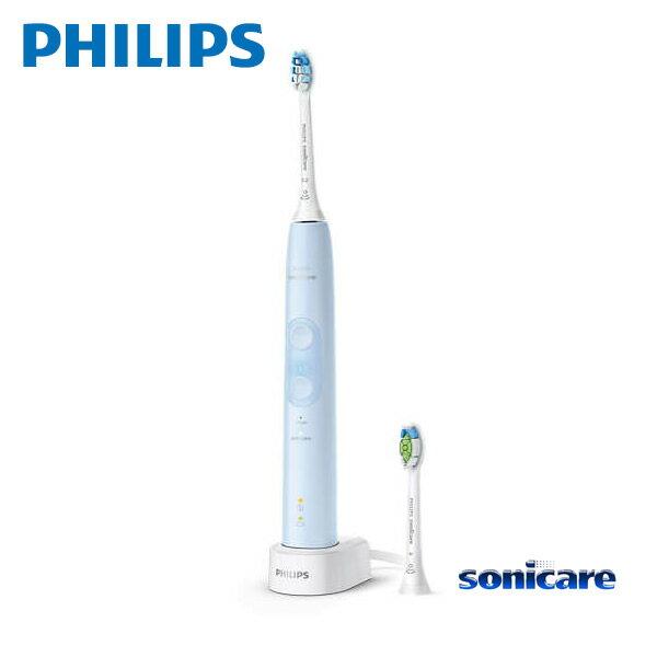 【お取り寄せ】 Sonicare HX6453/68 ライトブルー フィリップス ソニッケアー ProtectClean プロテクトクリーン プラス 電動歯ブラシ / 過圧防止センサー 2つのモード、3 段階の強さ設定 【新生活 卒業 入学 祝】