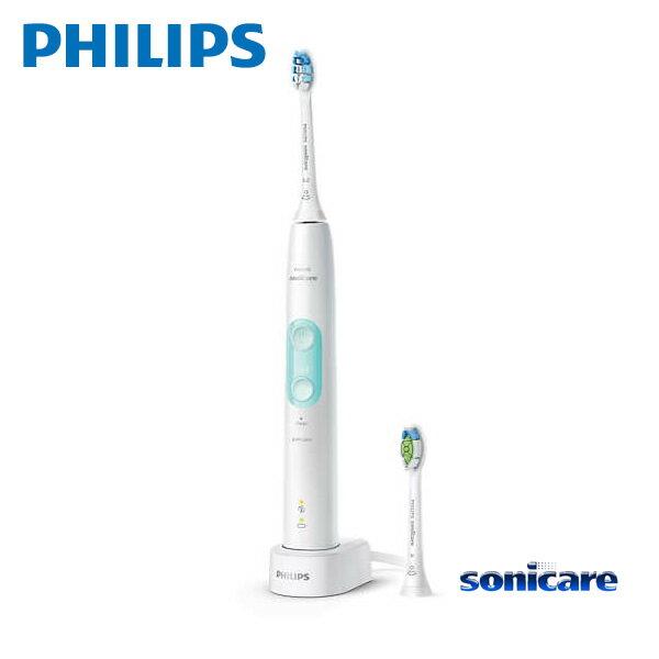 【お取り寄せ】 Sonicare HX6457/68 ホワイトミント フィリップス ソニッケアー ProtectClean プロテクトクリーン プラス 電動歯ブラシ / 過圧防止センサー 2つのモード、3 段階の強さ設定 【新生活 卒業 入学 祝】