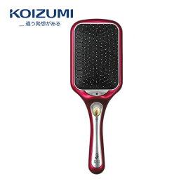 KOIZUMI KBE-2400/P ピンク コイズミ マイナスイオンリセットブラシ(クッションタイプ) 音波振動磁気エステブラシ / ブラシ中央口からマイナスイオンを噴射し潤いを与えます 【令和 ギフト 贈り物】【在庫あり】