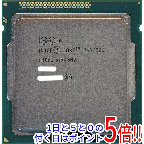 【中古】Core i7 3770K 3.5GHz LGA1155 SR0PL