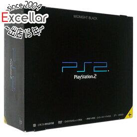 【キャッシュレスで5%還元】【中古】SONY PS2 ミッドナイト・ブラック SCPH-50000NB 元箱あり