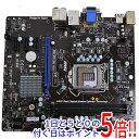【キャッシュレスで5%還元】【中古】MSI製 MicroATXマザーボード H61MU-S01(B3) LGA1155