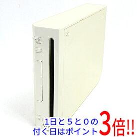 【中古】任天堂 家庭用ゲーム機 Wii [ウィー] 本体いたみ