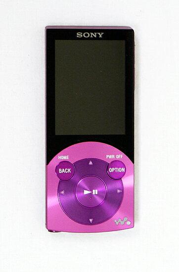 【中古】SONYウォークマン S NW-S744 バイオレット/8GB