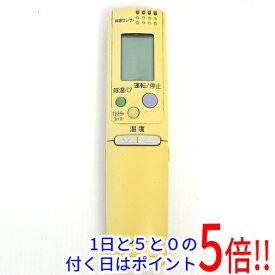 【キャッシュレスで5%還元】【中古】SANYO製 エアコンリモコン RCS-SR1