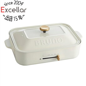 IDEA コンパクトホットプレート BRUNO(ブルーノ) BOE021-WH ホワイト