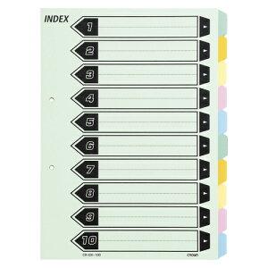 クラウン【AC】カラーインデックス 10山CR-IDK-100★【CRIDK100】