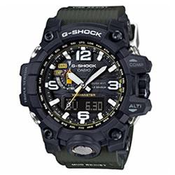 カシオ【国内正規品】CASIO G-SHOCK アナログ電波ソーラー腕時計 マッドマスター GWG-1000-1A3JF★G-SALE【メンズ腕時計】
