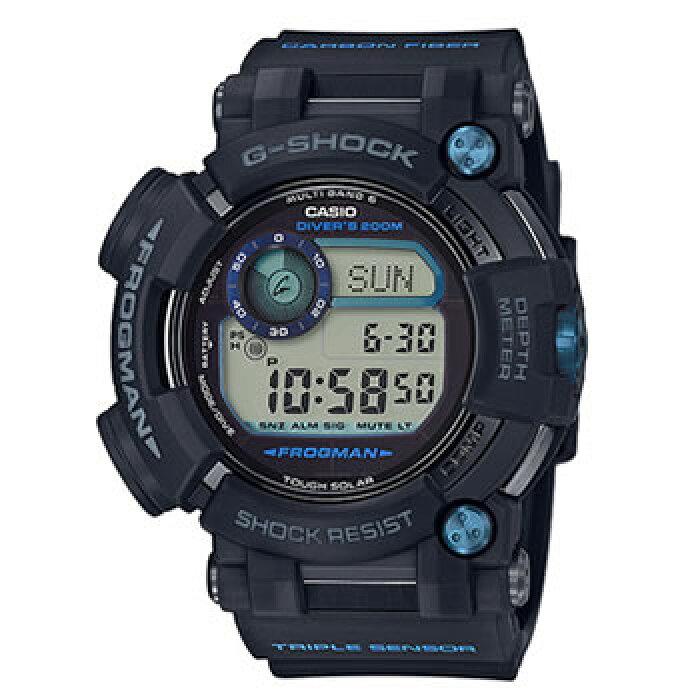 カシオ【国内正規品】CASIO G-SHOCK デジタル電波ソーラー腕時計 GWF-D1000B-1JF★【フロッグマン】