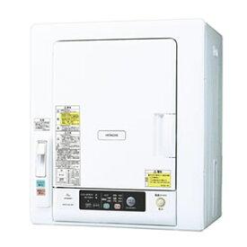 日立【HITACHI】6kg衣類乾燥機 DE-N60WV-W★【DEN60WV】