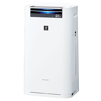 シャープ【SAKURA秋の感謝祭】加湿空気清浄機 KI-GS70-W(ホワイト系)★【***特別価格***】