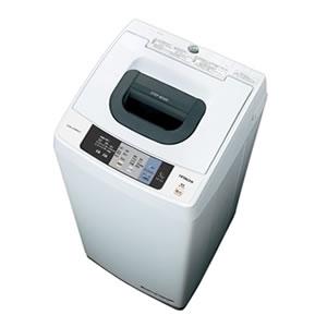 日立【HITACHI】5kg全自動洗濯機 NW-50A-W★【NW50A】