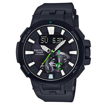 カシオ【国内正規品】CASIO PRO TREK 電波ソーラーメンズ腕時計 プロトレック PRW-7000-1AJF★G-SALE【PRW70001AJF】