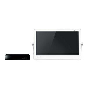 パナソニック【Panasonic】10V型HDDレコーダー付ポータブルテレビ UN-10T7-W(ホワイト)★【UN10T7】