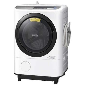 日立【代引き・日時指定不可】洗濯12kg 左開き ドラム式洗濯乾燥機 BD-NX120BL-S★【BDNX120BLS】