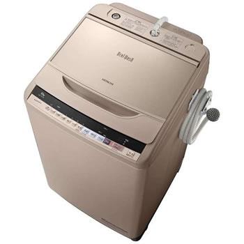 【HITACHI】洗濯10.0kg 全自動洗濯機 ビートウォッシュ BW-V100B-N(シャンパン)★【BWV100BN】