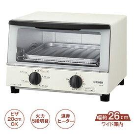 タイガー【TIGER】オーブントースター やきたて KAK-A100-W(ホワイト)★【KAKA100W】