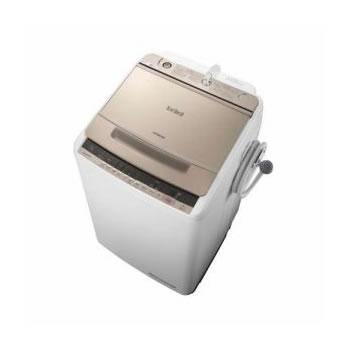 日立【HITACHI】洗濯8.0kg 全自動洗濯機 ビートウォッシュ BW-V80C-N(シャンパン)★【BWV80CN】