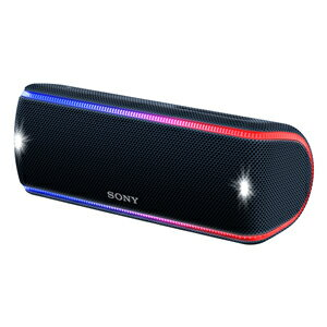 ソニー【SONY】ワイヤレスポータブルスピーカー ブラック SRS-XB31-B★【SRSXB31B】