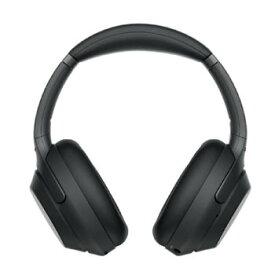 ソニー【ヘッドホン】ワイヤレスノイズキャンセリングステレオヘッドセット WH-1000XM3-B★【WH1000XM3B】