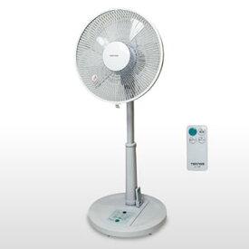 TEKNOS【テクノス】千住 30cm5枚羽根 リビングリモコン扇風機 ホワイト KI-168R★【KI168R】