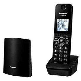 パナソニック【RU・RU・RU】コードレス電話機(子機1台付き) ブラック VE-GDL45DL-K★【VEGDL45DLK】
