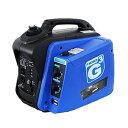 ニチネン【2WAY】インバーター式携帯発電機 G-Cubic ジーキュービック KG-101★【カセットボンベ・ガソリン】