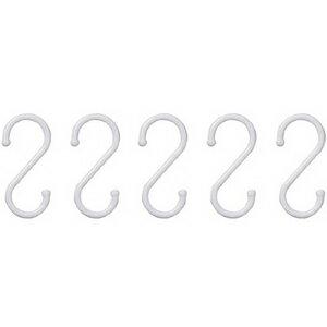 [最大P15倍★20日23:59]アイリスオーヤマ プラS字フック PSF-L(サイズ大)【5個入り】物干し ハンガーかけ 衣類かけ 洗濯