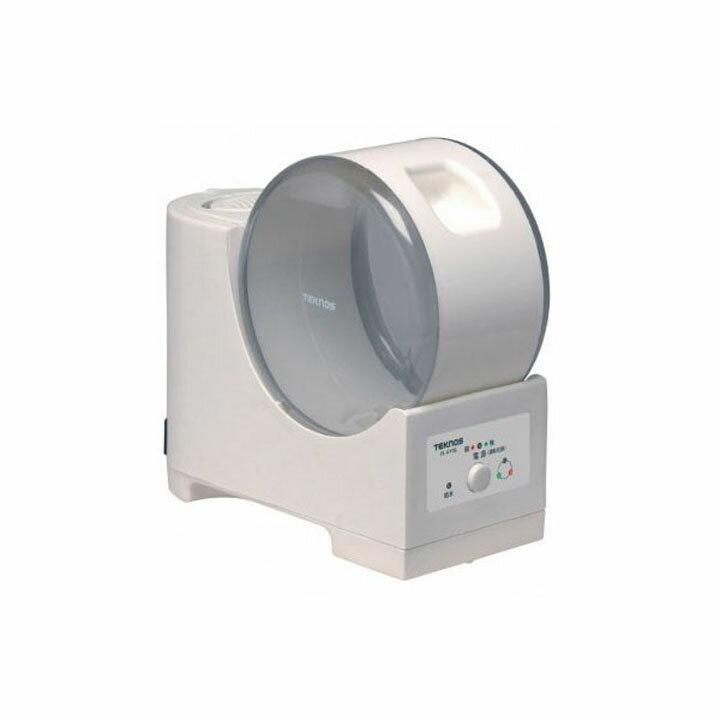 TEKNOS テクノス スチーム加湿器 3.7L 強弱付き EL-GY07 (木造 5畳 コンクリート 7畳)ホワイト加湿器 湿気 潤い 加湿機 オフィス 乾燥対策【D】【2015】 花粉対策