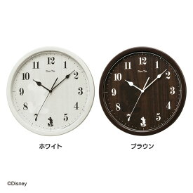 SEIKO セイコークロック ディズニー ミッキー 掛け時計 FW577A・FW577B・ホワイト・ブラウンDisney 壁掛け時計 掛時計 アナログ 時計 おしゃれ かわいい 子供 シンプル【HD】【TC】